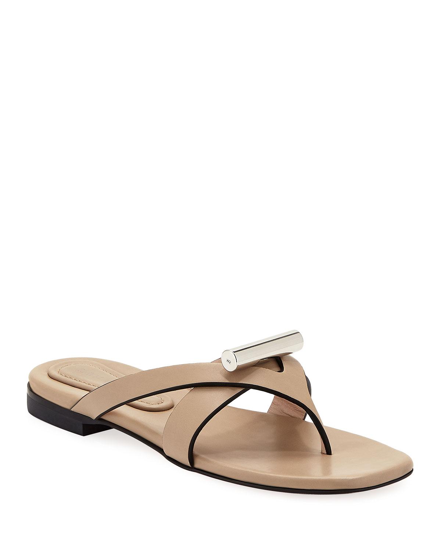 f14d4065458 Stuart Weitzman Arro Flat Thong Slide Sandals