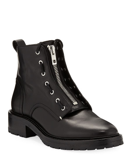 Rag & Bone Cannon Leather Combat Boots