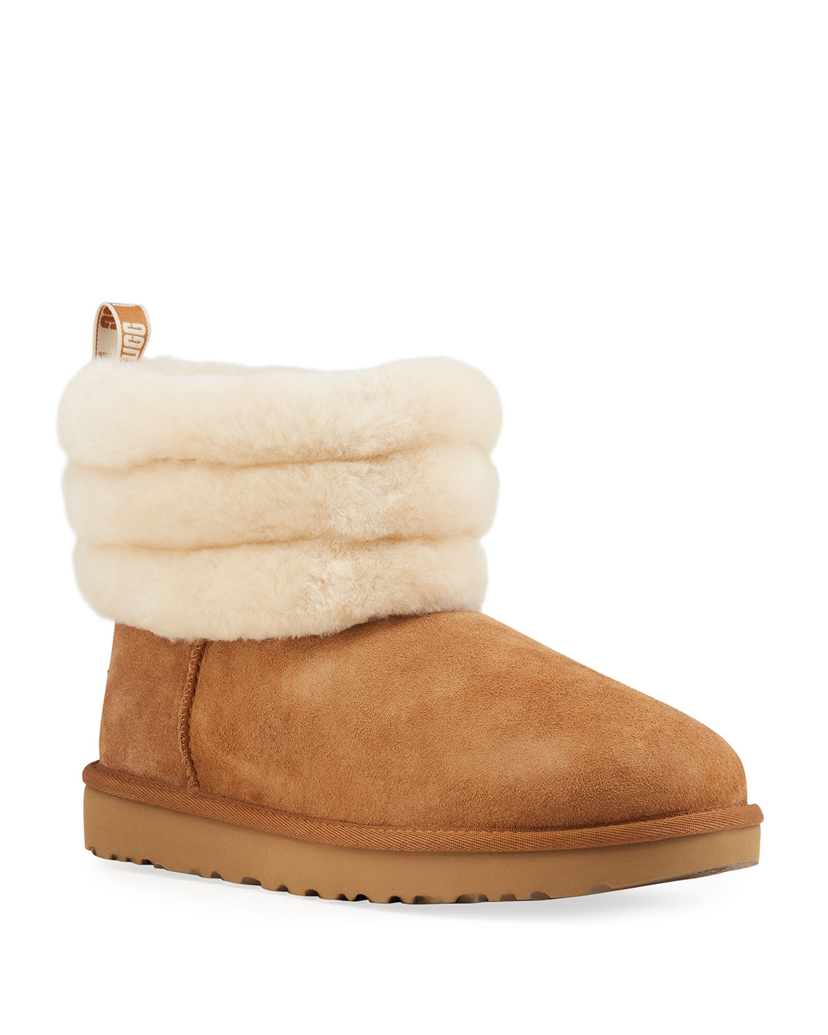 89d34d027ed Fluff Mini Quilted Short Boots
