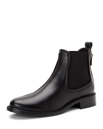 Belle Leather Ankle Boots