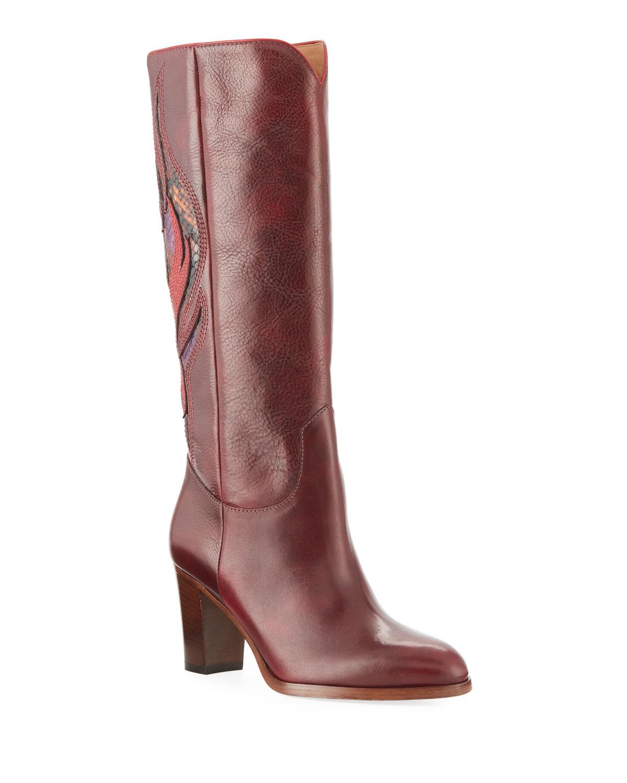 3eb34cc8e Frye June Flame Knee Boots | Neiman Marcus