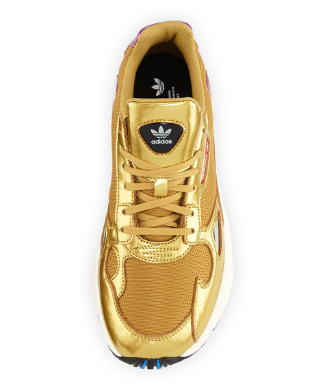 Adidas Falcon Women's Metallic Sneakers