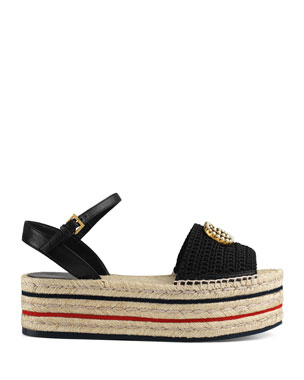 5c3a0c3f Women's Espadrille Wedges, Flats & More at Neiman Marcus