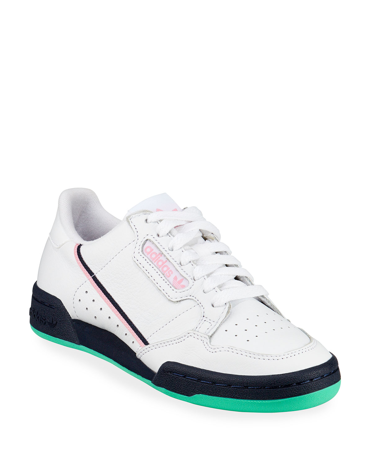 release date: edda0 568a9 Adidas Continental 80 Leather Low-Top Sneakers