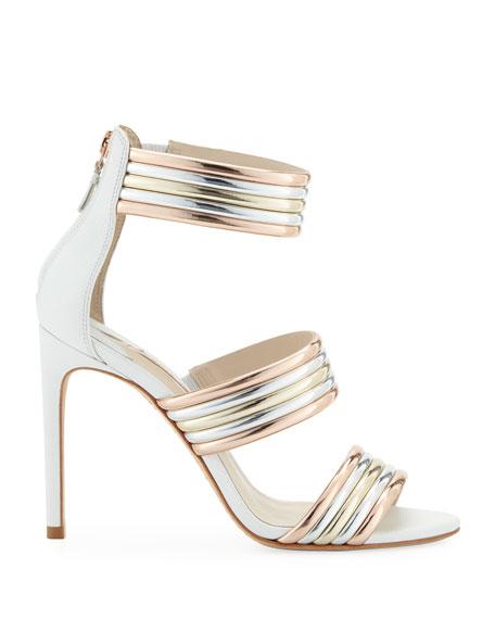 Sophia Webster Joy Multi-Metallic Sandals