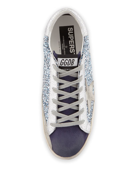 Golden Goose Superstar Glitter Sneakers