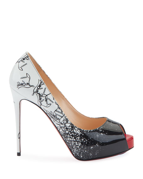 Christian Louboutin New Very Prive 120 Degraloubi Red Sole Pumps