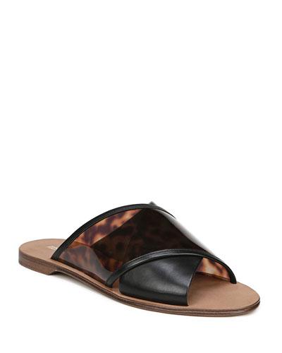 Bailie-4 Crisscross Slide Sandals