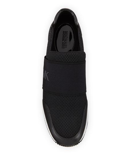 the latest 721ee ca0f8 Image 3 of 3  MICHAEL Michael Kors Felix Logo Slip-On Trainer Sneakers