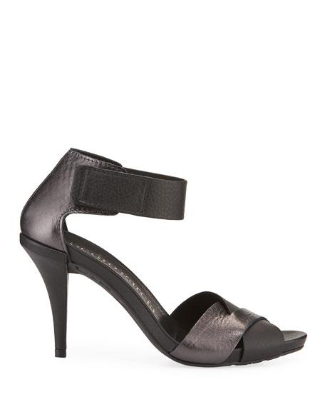 Pedro Garcia Yitta 95mm Metallic Leather Sandals