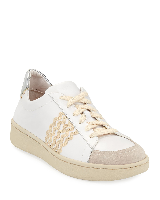 Adidas Shoes Missy Elliot Ivory Leather Sneakers         Poshmark    Loeffler Randall Elliot Ricrac Sneakers   title=          Neiman Marcus