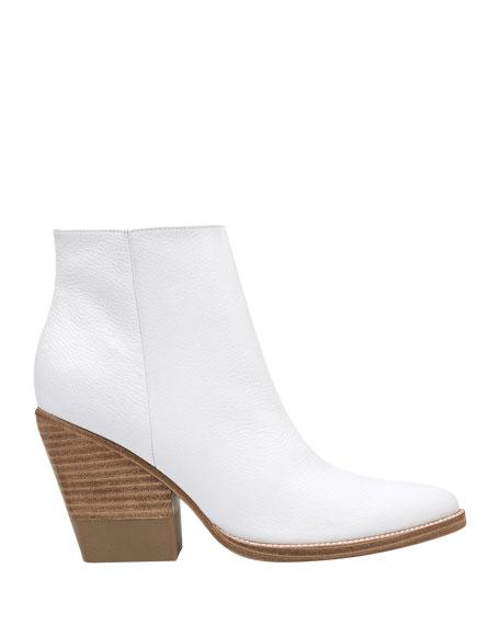 Marc Fisher LTD Bellen Leather Zip Boots
