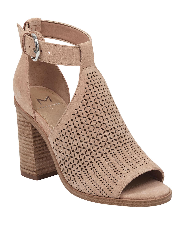 766af1ac30f Vixen Cutout Suede Sandals
