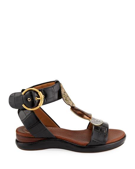 70186fcb2fcd Image 3 of 4  Wanda Flat Tall Gladiator Sandals
