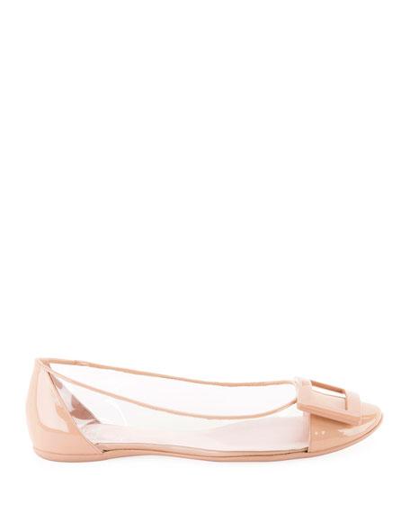 Roger Vivier Gommette PVC Ballet Flats