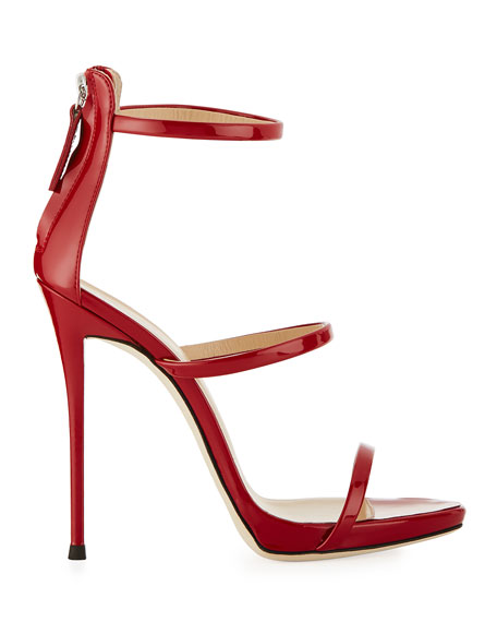Giuseppe Zanotti Three-Strap 120mm Sandals