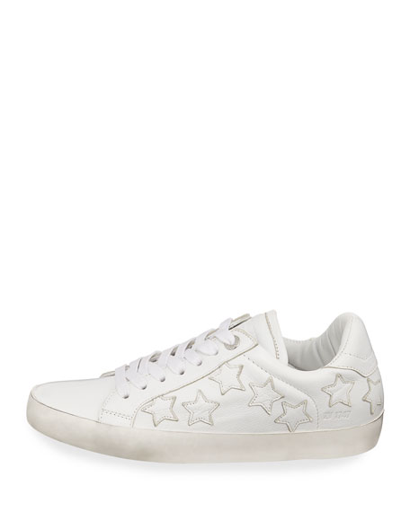 Zadig & Voltaire Zadig Stars Leather Sneakers