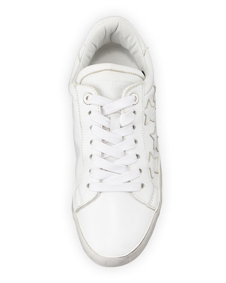 Image 4 of 4: Zadig & Voltaire Zadig Stars Leather Sneakers