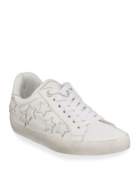 Image 1 of 4: Zadig & Voltaire Zadig Stars Leather Sneakers