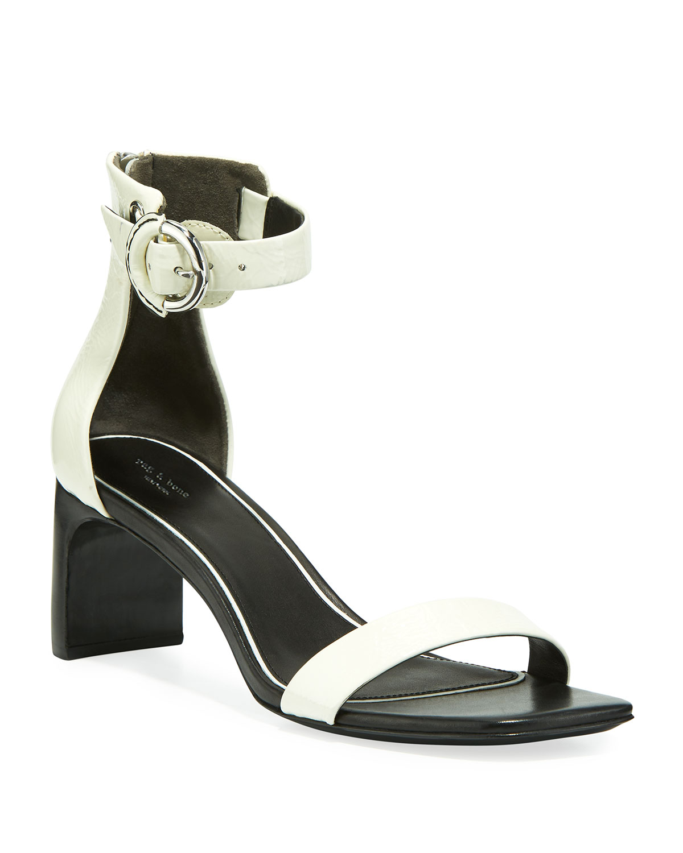 795a7f741a7 Rag   Bone Ellis Patent Ankle-Strap Sandals