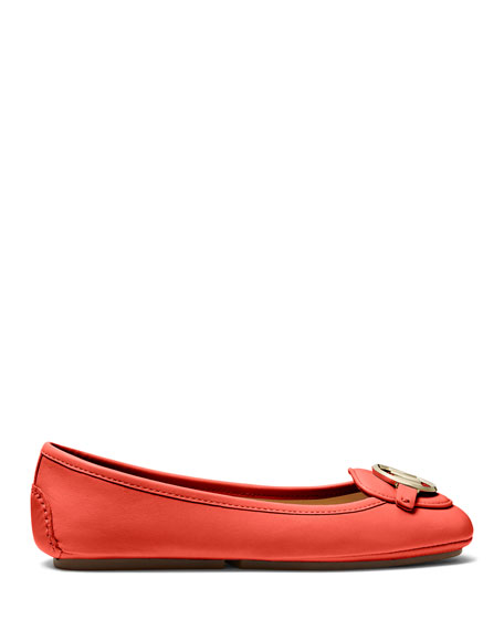 MICHAEL Michael Kors Lillie Sheep Leather Driver Flats