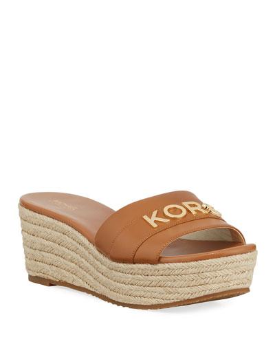 1eafeccf00c4 MICHAEL Michael Kors Bennett Crystal Platform Sandals from Neiman ...