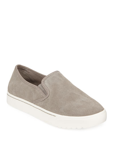Campsneak Slip-On Suede Sneakers