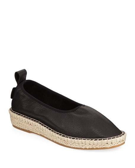 Cole Haan CloudFeel Flat Leather Espadrilles