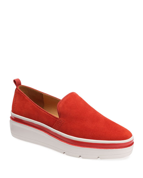 Bill Blass Sutton Suede Chunky Sneakers
