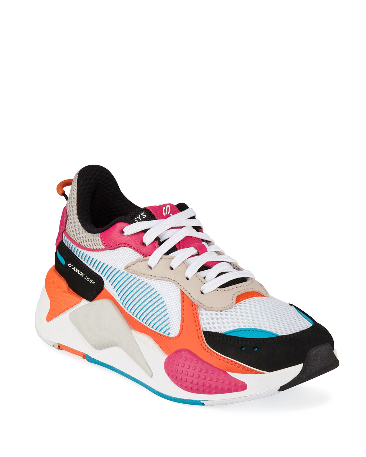 RS X Core Mesh Running Sneakers