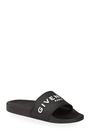 Givenchy Logo Rubber Sandal Slide