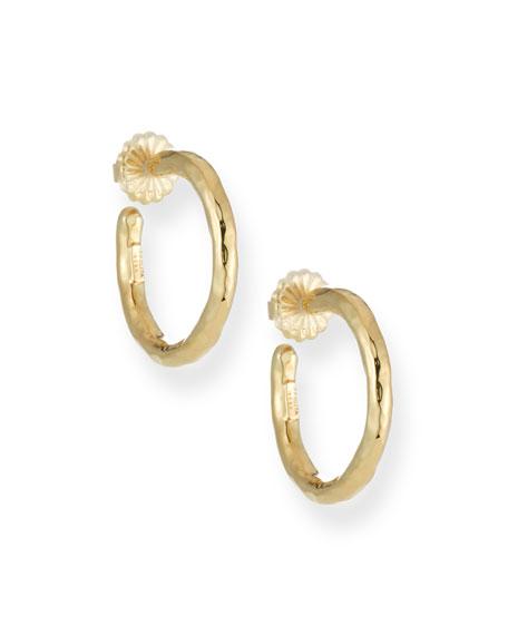 Ippolita Glamazon Yellow Gold Hoop Earrings