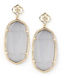 Kendra Scott Davey Earrings, Slate