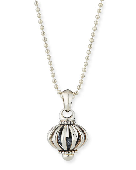 LAGOS Signature Birdcage Pendant Necklace