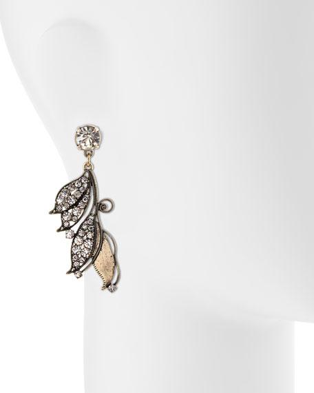 Vine Crystal Earrings
