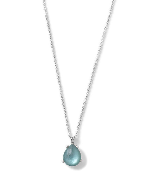 Wonderland Pear Shape Pendant Necklace