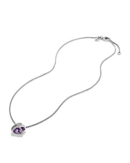David Yurman Cable Wrap Necklace with Diamonds