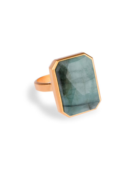 Ringly Into The Woods Emerald Smart Ring