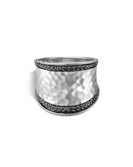 Classic Chain Lava Pave Ring
