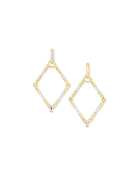 Lisse Simple Diamond Earring Charm Frames