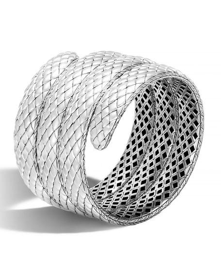 John Hardy Cobra Legends Triple-Coil Bangle Bracelet