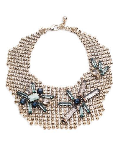 Cité Chain Link Bib Necklace