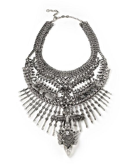Falkor II Totem Crystal Statement Necklace