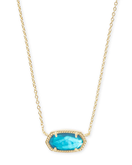 Kendra Scott Elisa Abalone Shell Necklace