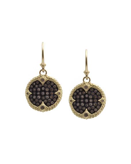 Armenta Old World Ombre Diamond Drop Earrings