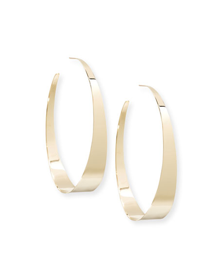Bond XXL Gloss 14K Hoop Earrings