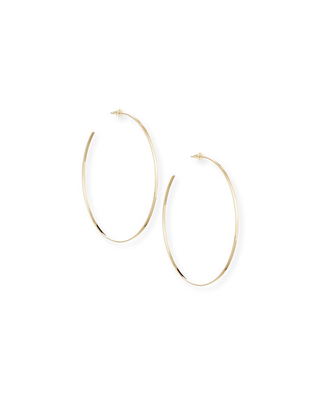 Lana 14k Gold Mega Lana Hoop Earrings