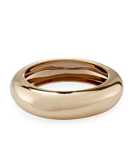 Alexis Bittar Small Watery Metal Bangle Bracelet