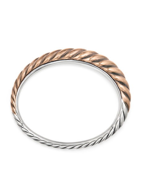 Pure Form Bronze Cable Bracelet