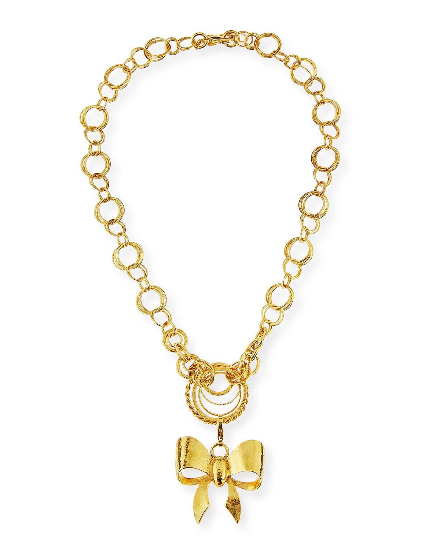 Jose & Maria Barrera 24K Gold-Plated Chain Necklace 5dklWj4BqA